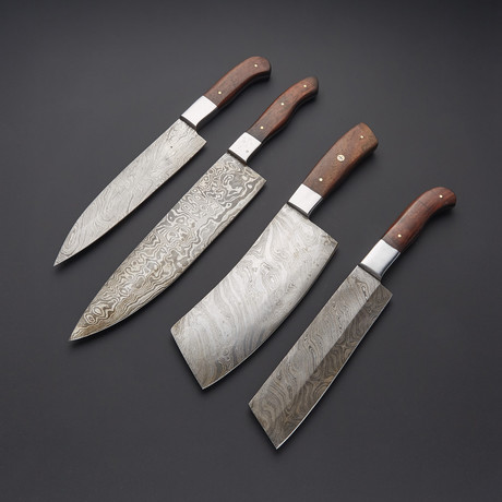 Kitchen Knife Set // Set of 4 // 1272