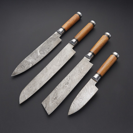 Kitchen Knife Set // Set of 4 // 1273