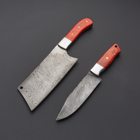 Cleaver & Chef Knife // Set of 2 // 1275