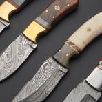 Damascus Steak Knife Set 3 // Set Of 4