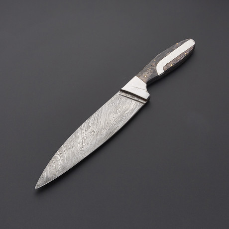 Damascus Chef Knife // 1280