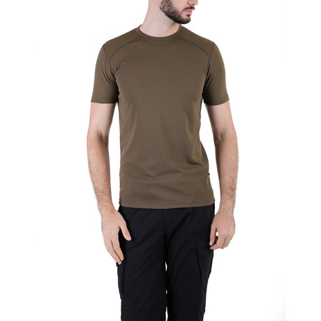 Solid T-shirt  // Olive (XS)