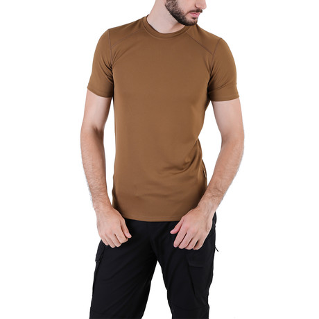 T-Shirt // Light Brown II (XS)