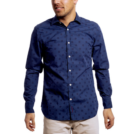 Bing Shirt // Navy (XS)