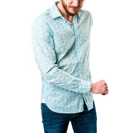 Flac Flac Shirt // Vert D'Eau (XS)