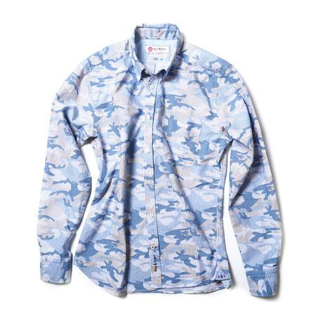 Iam Shirt // Blue Camo (XS)