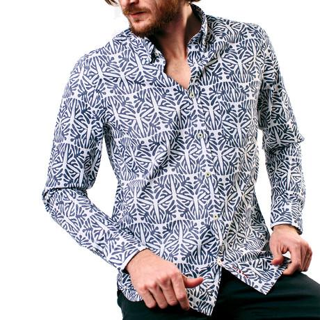 Kitwak Shirt // Navy + Blanc (XS)