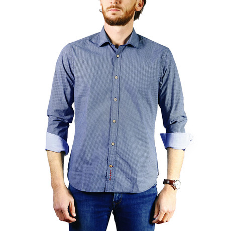 Scrou Shirt // Denim Blue (XS)
