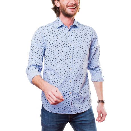 Tchiin Shirt // Blue (XS)