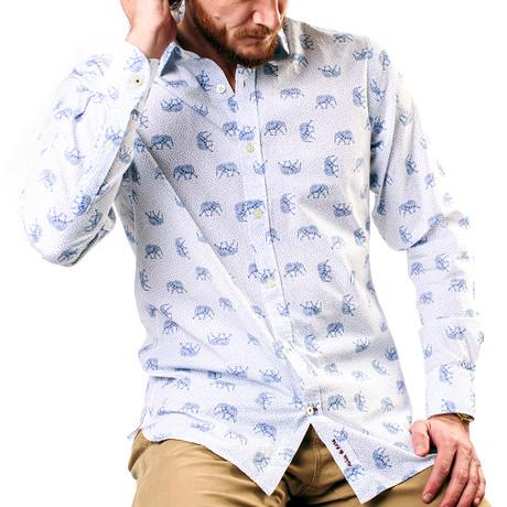 Zoomba Shirt // Sky Blue (XS)