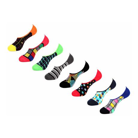Ananta No Show Socks // 8 Pack