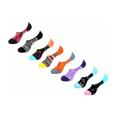 Bala No Show Socks // 8 Pack