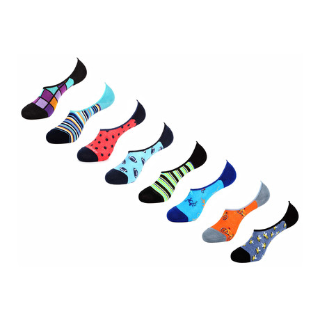 Mohana No Show Socks // 8 Pack