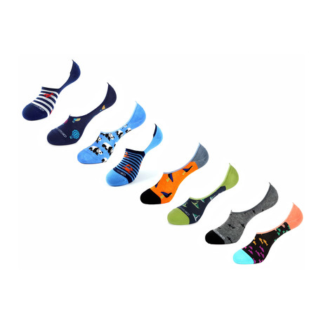 Manot No Show Socks // 8 Pack