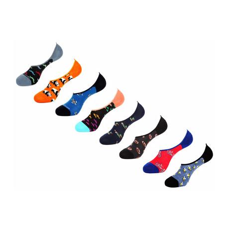 Noga No Show Socks // 8 Pack