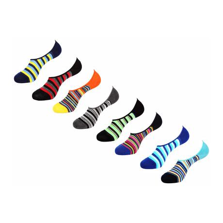 Armin No Show Socks // 8 Pack