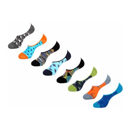 Gorham No Show Socks // 8 Pack