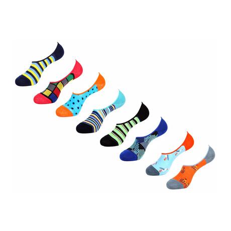 Iovita No Show Socks // 8 Pack