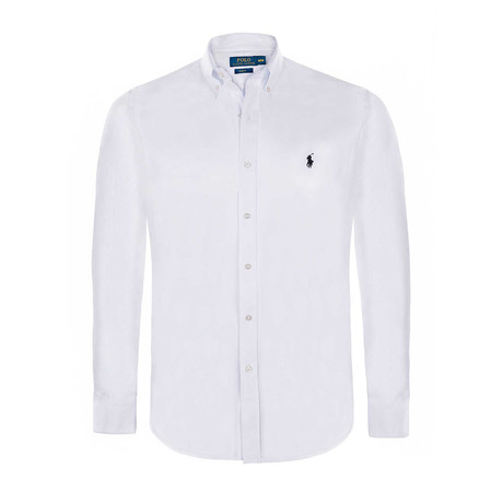 Slim-Fit Classic Shirt // White (S)