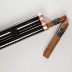 Keep it Fresh Cigar Holder // Double (Gray)