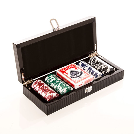 Carbon Series Poker Set (Standard)