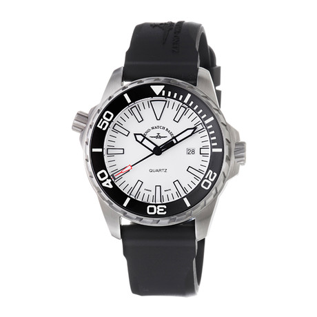 Zeno Divers Quartz // 6603-515Q-A2 // New