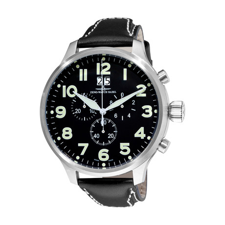 Zeno Chronograph Quartz // 6221-8040-A1 // Store Display