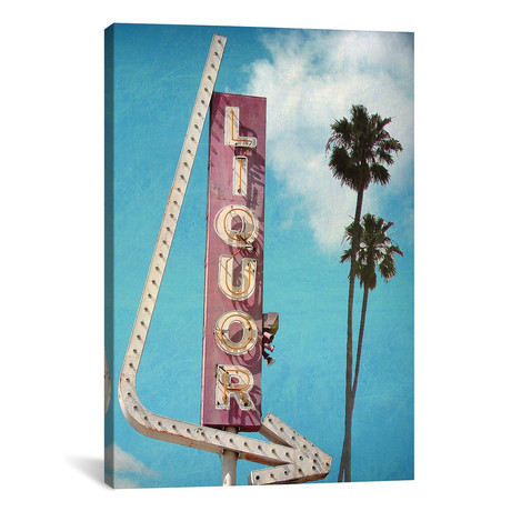 "Liquor // Honeymoon Hotel (12""W x 18""H x 0.75""D)"