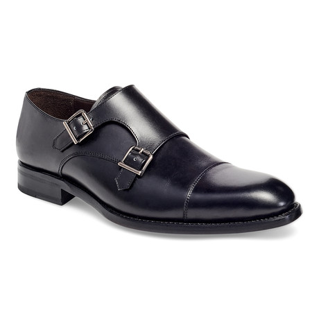 Cali II Double Monk Strap // Black (US: 7)