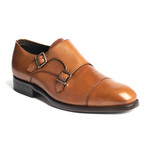 Cali II Double Monk Strap // Tan (US: 7)