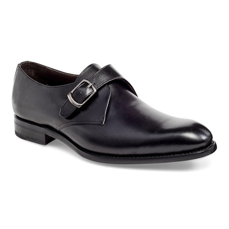 Cali Single Monk Strap // Black (US: 7)