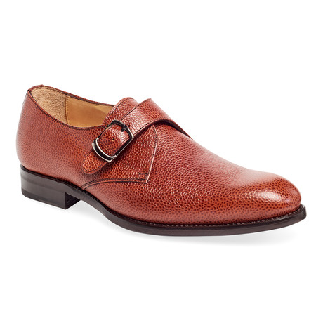 Cali Pebble Single Monk Strap // Tan (US: 9)