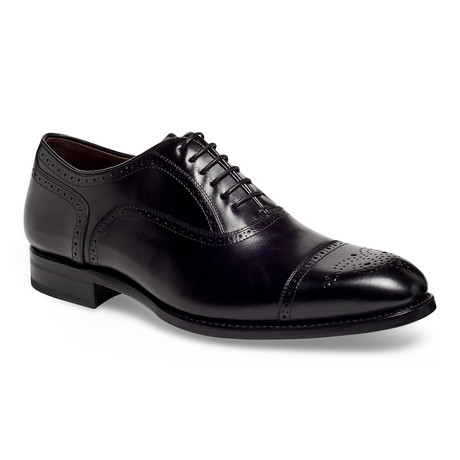 York Semi Brogue // Black (US: 9)