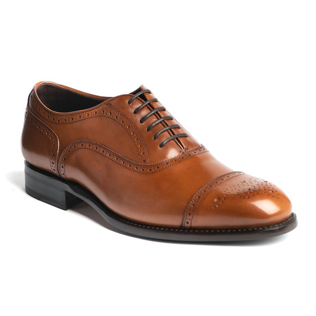 York Semi Brogue // Tan (US: 7)