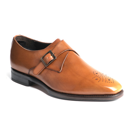 SFO Single Monk Strap // Tan (US: 7)