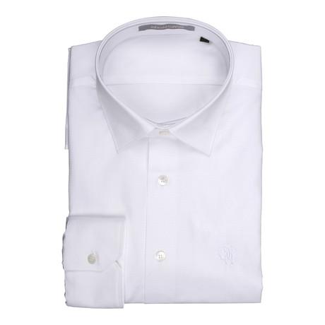 Chia Woven Shirt // White (Euro: 39)