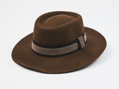 Photo of Elegancia Tropical Updated Wool Hats Aspen // Dark Brown (S) by Touch Of Modern