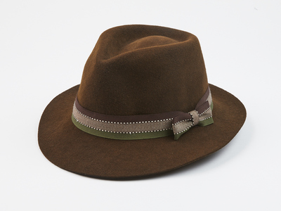 Photo of Elegancia Tropical Updated Wool Hats Denver // Dark Brown (S) by Touch Of Modern