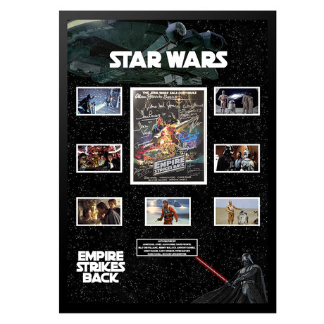 Signed Collage // The Empire Strikes Back // Collage I