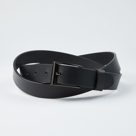 "Independent Belt // Black 30M (Size 30"")"