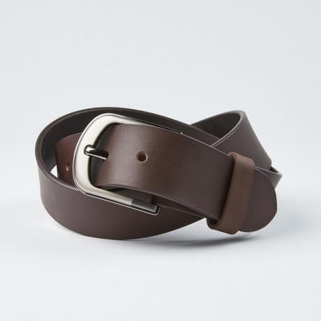 """Independent Belt v2 // Brown 40M (Size 30"""")"""