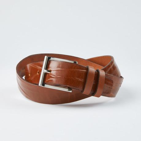 "Stress Belt // Cognac (Size 30"")"