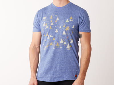Photo of Mulitia Effortless Style For Everyone Smokestack Tee // Blue (S) by Touch Of Modern