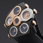 Jacob & Co. Grand Five Time Zone Quartz // 91123617 // Store Display