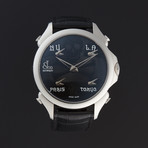 Jacob & Co. Five Time Zone Quartz // 100.500.10.NS.NP.1NS // Store Display