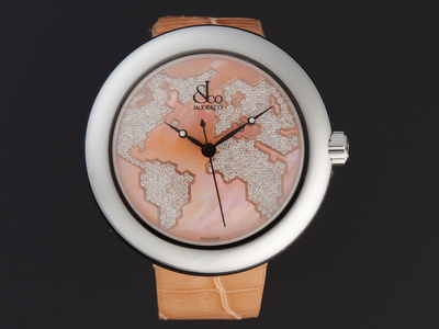 Photo of Jacob & Co. Luxury Statement Timepieces Jacob & Co. Five Time Zone Quartz // CR47SRWRM // Store Display by Touch Of Modern