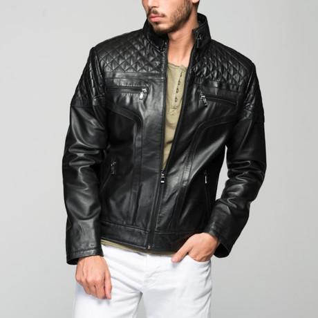 Paolo Leather Jacket // Black (XS)