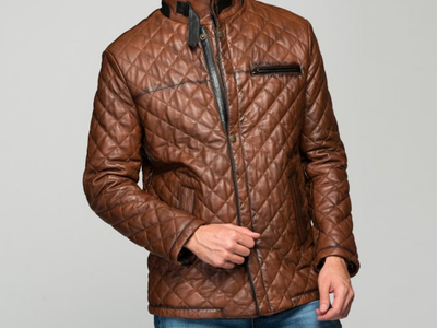 Photo of CLEARANCE: Outerwear We've Got You Covered Ezio Leather Jacket // Antique Brown (2XL) by Touch Of Modern