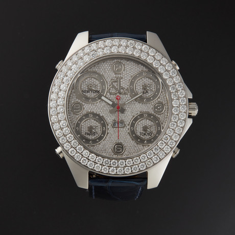 Jacob & Co. Five Time Zone Jumbo Quartz // 91330514 // Store Display