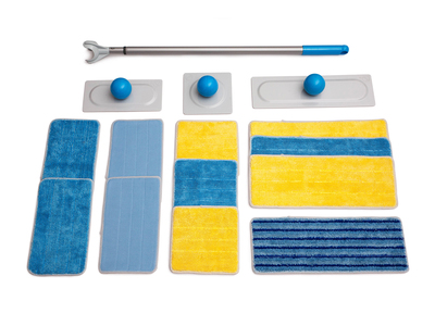 Duop Floor to Ceiling Cleaning Tool Duop // All-In-One Set + ToMo Exclusive Pads Bundle by Touch Of Modern - Anniversary Gifts for Him